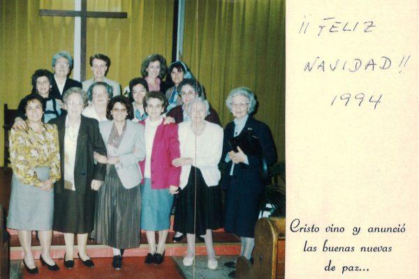 1994 FELICITACION NAVIDAD JUNTA NACIONAL FILIAL MADRID