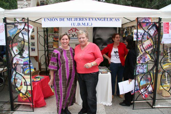 2007 STAND PUERTAS ABIERTAS MADRID M. ROSA Y ELISABET SUA